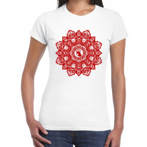 Christmas Stocking Mandala Women's T-Shirt