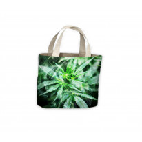 Cannabis Smoke Tote Shopping Bag For Life