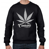 Cannabis For Medical Use Men's Sweatshirt Jumper