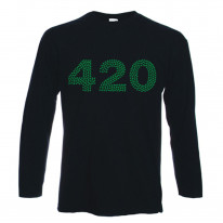 420 Marijuana Cannabis Long Sleeve T-Shirt